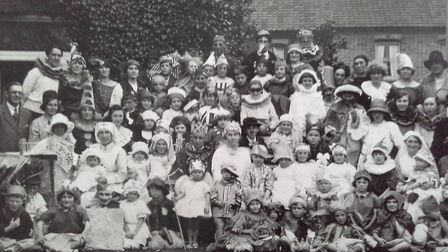 Give us a smile. The people of Knowsley Road and Beaconsfield Road in Norwich in the early 1920s all