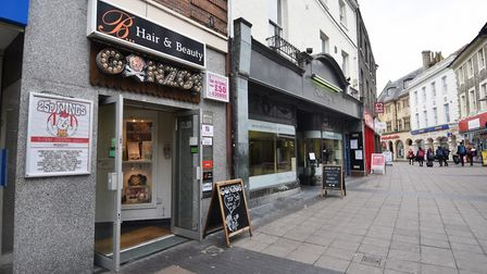 Gonzo's bar and restaurant on London Street. Picture : ANTONY KELLY