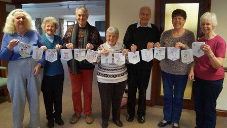 The Co-op Food store in Wymondham recruited adult colourers to help create an inter-generational Eas