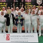 The victorious Norfolk Over-60s side. Picture: David Rhys Jones