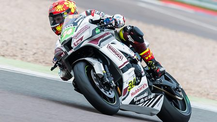 RAF Team's Jordan Weaving at Donington. Picture: Barry Clay