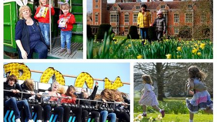 Easter East Anglian Transport Museum, Blickling Hall, Easter Fun Fair and on the hunt for Easter egg