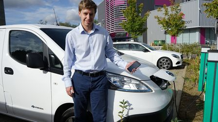 Justin Ott, chief executive of Spark EV Technology in Newmarket. Picture: Spark EV