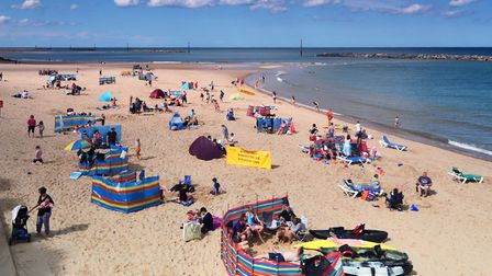 People polled said there was more to do in the summer - like a day out at the beach. Picture : ANTON