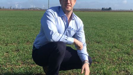 Agrovista is establishing a major new trials site at the Coldham Estate, near Wisbech Fens. Pictured