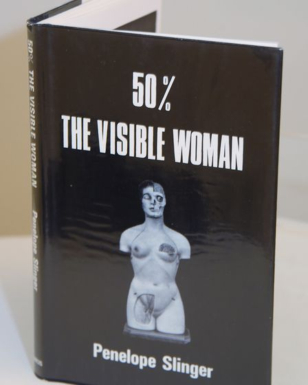 The book, 50% The Visible Woman, the inspriation for the Visible Women exhibition at Norwich Castle.