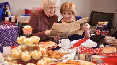 Wartime themed tea at Blofield to tackle loneliness and isolation within the elderly. Apple Homecare