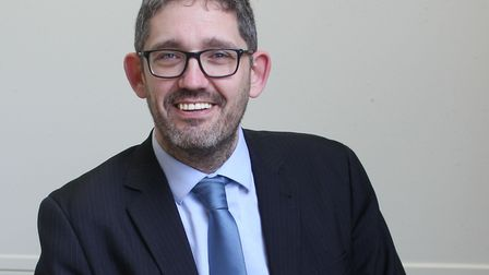 Antony Little, the new principal at Cromer Academy. Picture: Inspiration Trust