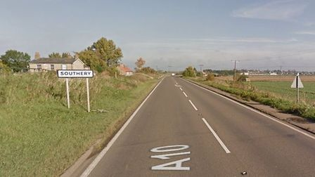 The A10 at Southery. Picture: Google Maps