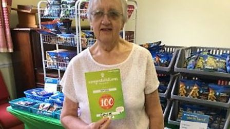 Sue Curtis, 69, who has lost over 104lbs with Weight Watchers. Photo courtesy of Sue Curits/Weight W
