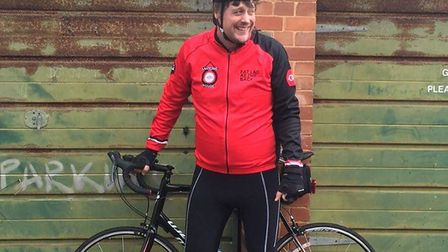 Chris McGuire decides it's time to tackle that 'Dad Bod' - by taking to two wheels.