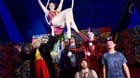 Foolhardy Circus at Wroxham Barns.Picture: ANTONY KELLY