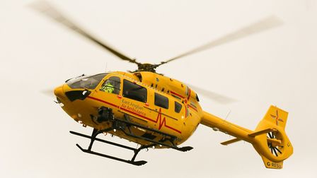 Air ambulance. Pictures: Franz Sidney