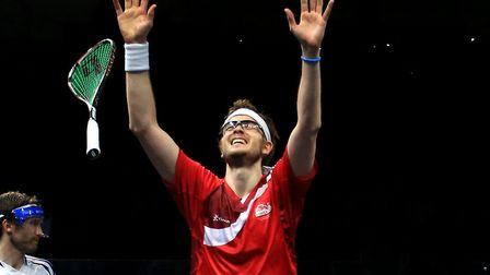 England's James Willstrop is going for gold at the Commonwealth Games. Picture: PA