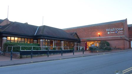Waitrose in Norwich is among nine branches of the supermarket which will be the first to stop using