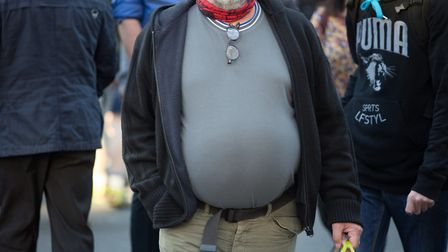 One in four people (23.8pc) in Norfolk are obese. Picture: PA / Daniel Leal-Olivas.