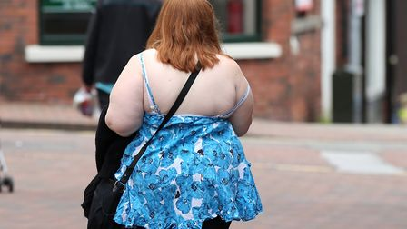 File photo of an overweight woman. Photo: Lynne Cameron/PA Wire