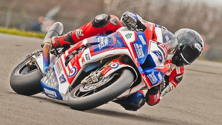 RAF Regular & Reserves' Jake Dixon aims to improve on his Donington results. Picture: Barry Clay