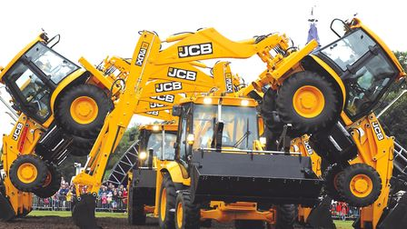 The JCB Dancing Diggers will be the headline performers at the 2018 East Anglian Game and Country Fa
