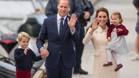 Prince George and Princess Charlotte as the royal couple will be waiting on tenterhooks to see if th