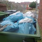 Jordan Huggins was prosecuted for fly tipping toxic asbestos in a communal bin in Costessey. Photo: