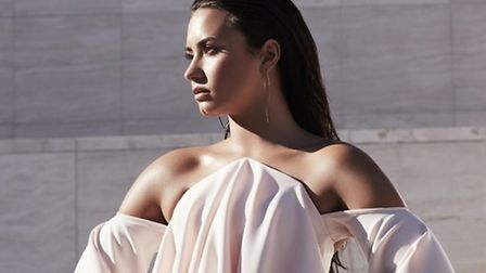 Demi Lovato, heading to Newmarket Racecourses this summer. Picture: DENNIS LEUPOLD