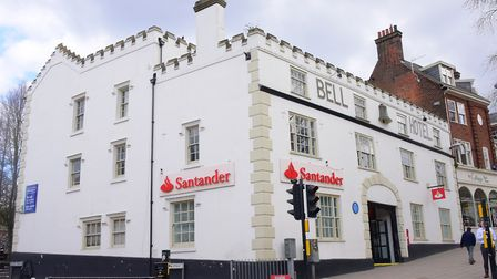The Bell Hotel n Norwich. Picture: Simon Finlay