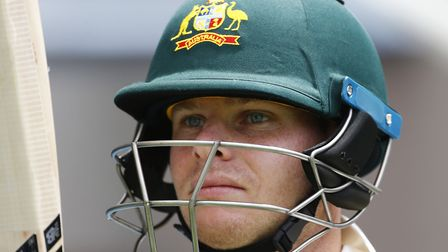 Australia's Steve Smith during day three of the Ashes Test match at The Gabba, Brisbane. (Picture: J