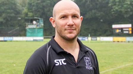 North Walsham's head of rugby James Brooks is moving on in the summer. Picture: Abigail Polley