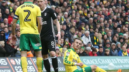 James Maddison was well policed by Fulham at Carrow Road. Picture: Paul Chesterton/Focus Images Ltd