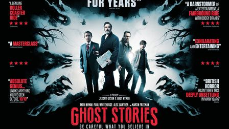 Poster for new film Ghost Stories. Photo: Lionsgate