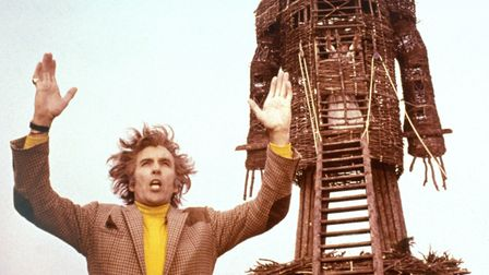 Christopher Lee in The Wicker Man. Photo: British Lion Films