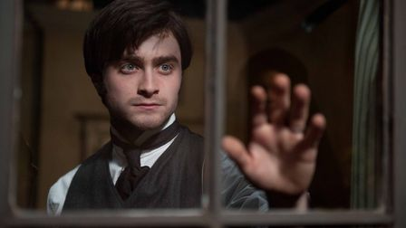 Daniel Radcliffe in The Woman in Back. Photo: Hammer Film Productions