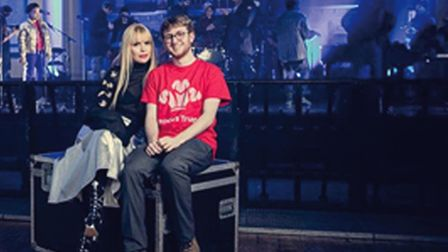 Alex Deeley, a Prince s Trust young ambassador, met Paloma Faith as the singer joined with Skoda to