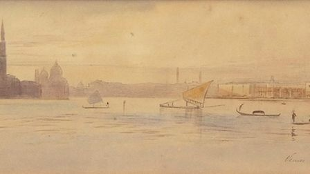 Venice, by Edward Lear, sold for 7200