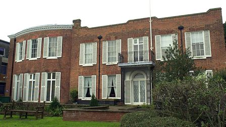 Thorpe Lodge, now Broadland District Council offices in Thorpe St Andrew. Picture: James Bass