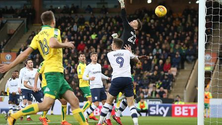 James Maddison's free-kick had put Norwich ahead during their 1-1 draw with Preston at Carrow Road.