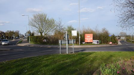 The land at Neatmarket on Hall Road, where a new Porsche dealership could be built, close to the B&Q
