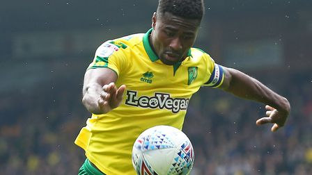Alex Tettey has been offered a new contract by the Canaries. Picture: Paul Chesterton/Focus Images