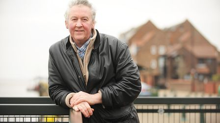 Stuart Wilkie is unhappy with the standard of hospital care his dad Ron Wilkie has received. Picture