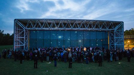 NNF15. The Voice Project perform The Observatory at the Sainsbury Centre for Visual Arts. Photo: JMA