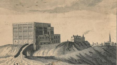 Norwich Castle in the 19th century. Photo: Archant Library