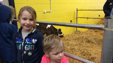 Bree and Kyla Robinson at the Spring Fling. Picture: Sophie Smith