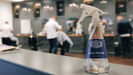 Gould Barblers Bald Polish. Picture: Gould Barbers/ToTheEnd