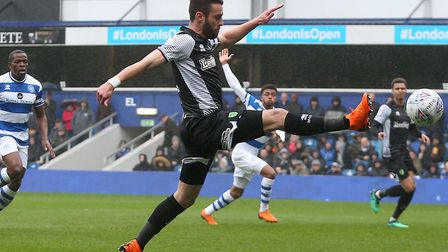 Ivo Pinto in action during City's 4-1 defeat at QPR. Picture by Paul Chesterton/Focus Images