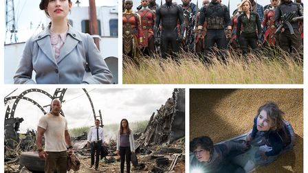The Guernsey Literary And Potato Peel Pie Society, Avengers: Infinity War, Rampage and A Quiet Place