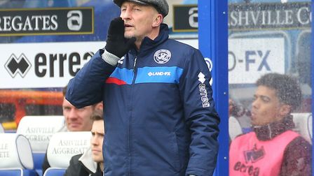 Queens Park Rangers manager Ian Holloway during his side's 4-1 win over Norwich. Picture by Paul Che