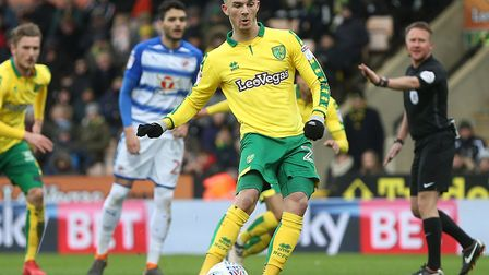 James Maddison scores his 13th league goal of this season, during City's recent home win over Readin