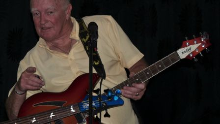 The late Terry Long on stage. Photo: Sam Wood