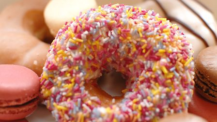 Fancy doughnuts will be on sale at the farmers market. Picture: Chris BIshop